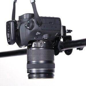 Image 4 - CY 1 adet Profesyonel fotoğraf aksesuarları çok fonksiyonlu ile 1/4 vida kafa olabilir döndür U klip C klip video kamera