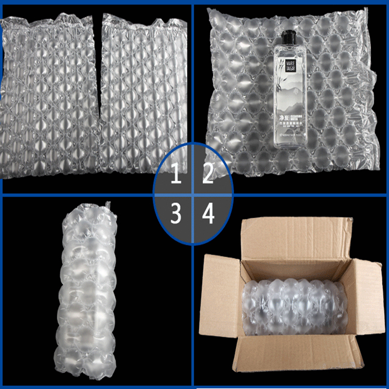 Gourd Film Bubble Buffer Shockproof Anti fall Pack Roll Air Bag Pressure Relief Logistics Inflatable Filling Transport Mail Pad in Gift Bags Wrapping Supplies from Home Garden