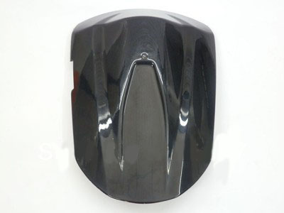 Black Rear Pillion Seat Cowl Cover For 2008 2009 Suzuki