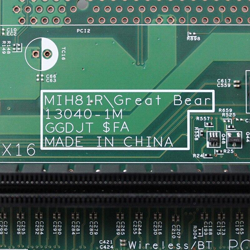 088DT1 Original For DELL 3900 3010 3000 3800 3647 3020 3847 SFF H81 desktop motherboard LGA1150 DDR3 MIH81R 13040-1M GGDJT 3
