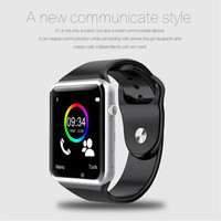 A1 WristWatch Bluetooth Smart Watch Sport Pedometer With SIM Camera Smartwatch For Android Smartphone Russia T15 good than DZ09 1