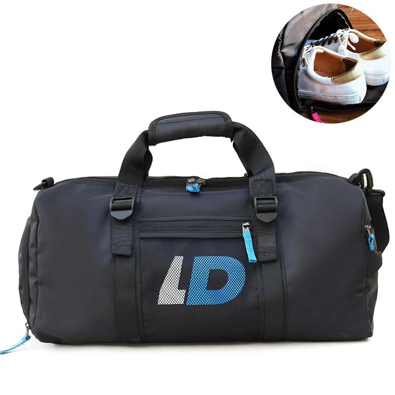 1b2dde72622e Swimming Dry Wet Gym Bags Yoga Travel Handbags Shoulder Shoes Bag Waterproof  For Sports Sac De Sport Fitness Duffel Pack XA481WA-in Gym Bags from Sports  ...