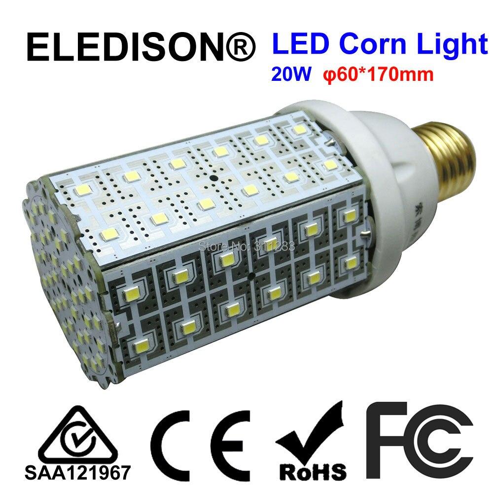 E27 LED Corn Bulb Light 20W 2000LM Ceiling Can Light Courtyard Wall Pack Light Night Road Lighting Bulb 60W CFL Bulb Equivalent lole капри lsw1349 lively capris xs blue corn
