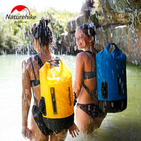 Naturehike Dry wet separation TPU Waterproof Bag Outdoor shoulders Dry Bag River Trekking Bags Swimming Backpack NH18F031 S
