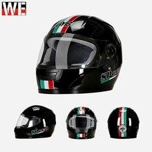цена на Motocross Helmets Men Motorcycle Racing Motorbike Scooter Protection Gear Full Face Shield Helmet Women mtb Bicycle Helmet