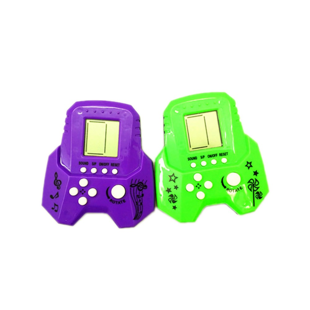 JRGK Super mini game consoles Classic Game Mini Puzzle Game Console Built-in 23 Games Handheld Gaming Player gift for kids