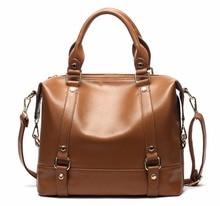 CHISPAULO Genuine Leather Handbags female Women oil leather Tassel Women Messenger Bags Crossbody casual shoulder bag female X86