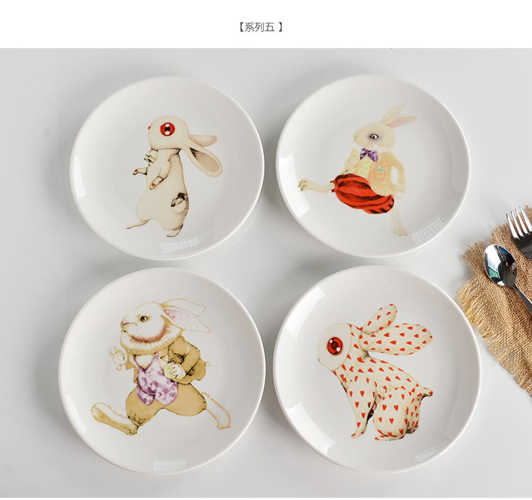 Online Get Cheap Rabbit Plates Dishes Aliexpress Com