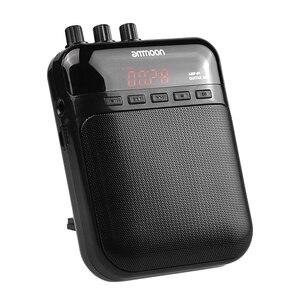 Image 4 - Ammoon AMP 01 5 W Gitar Amp Kaydedici hoparlör tf kartı Yuvası Kompakt Taşınabilir Çok Fonksiyonlu