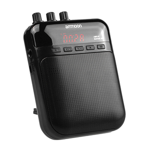 Image 4 - ammoon AMP  01 5W Guitar Amp Recorder Speaker TF Card Slot Compact Portable Multifunction