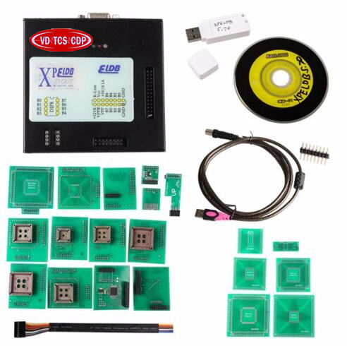 Newly Xprog V5.7 XPROG-M V5.70 XPROG M V5.7/X-PROG-M 5.60 BOX ECU Chip Programmer With Full Adapters Xprog ECU Chip Tuning Tool