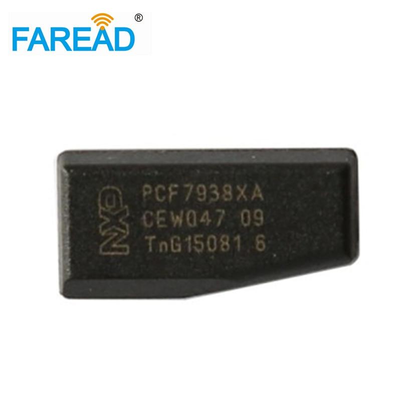 High Quality X10pcs Car Key Chips Transponder Chip Carbon ID47 PCF7938XA/7938 Tag