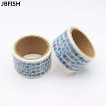 JBFISH cute cartoon school student decorative washi paper set for diary planner tapes for handmade work