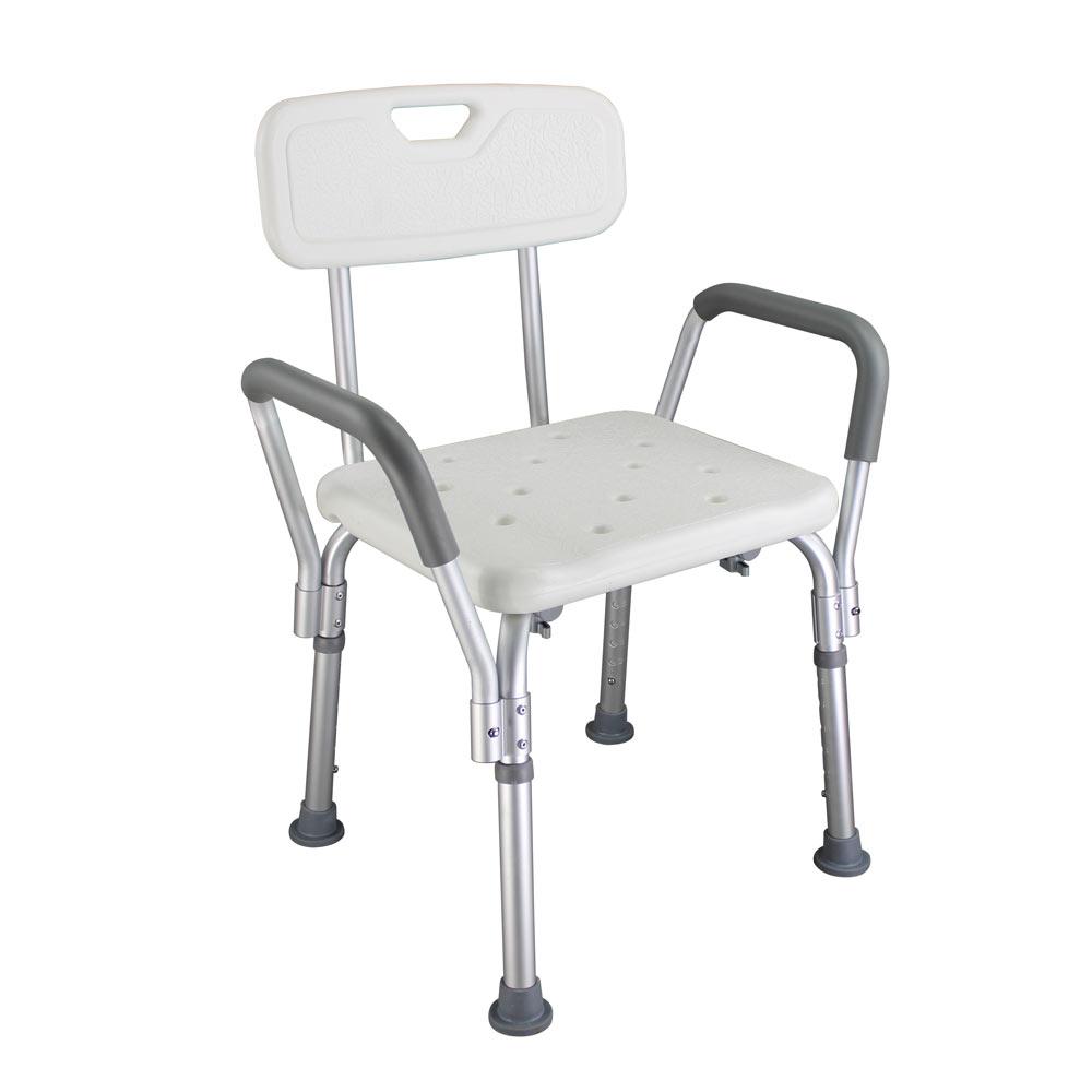 Ergonomic Old People Bathroom Armchair CST-3052 White