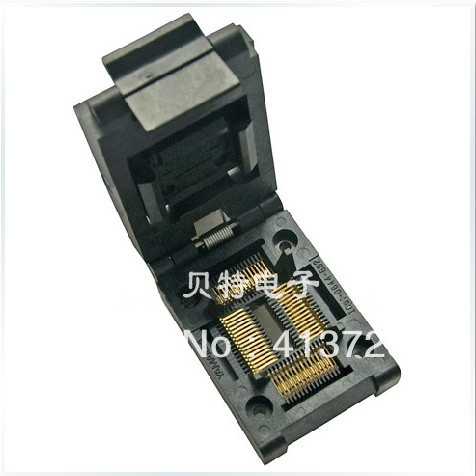 Burn importing IC51-0644-824-1 IC test socket adapter TQFP64 importing ic qfp32 programming block sa663 block burning test socket adapter convert