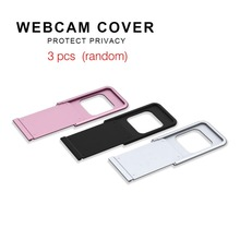 D1 Metal Webcam Cover Ultra-thin Webcam Cover Privacy Protection Shutter Sticker For Smartp