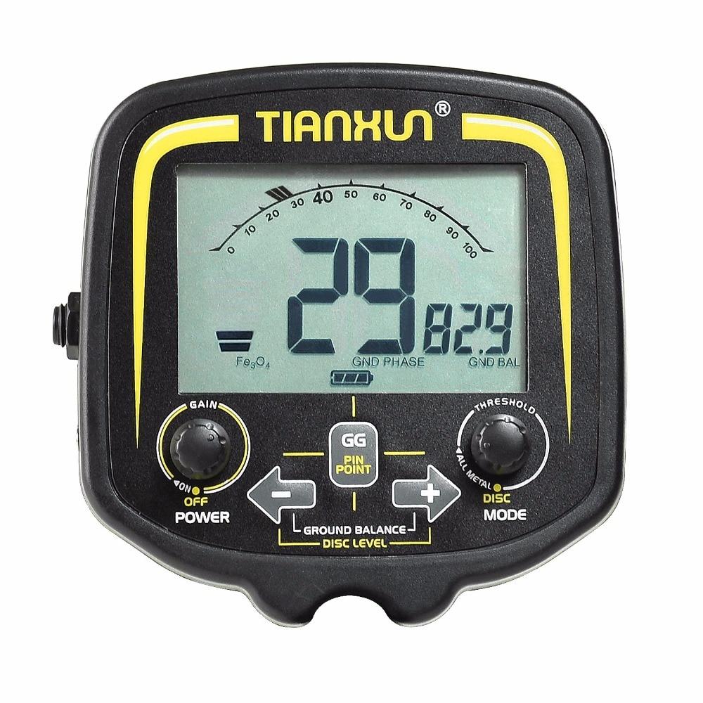 LCD Control Unit for undergrdoun metal detector TX 850 gold digger,treasure hunter control panel|Industrial Metal Detectors|   - AliExpress