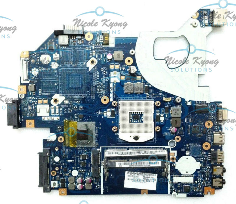 LA-6901P MB.R9702.003 MBR9702003 P5WE0 LA-6901P NV57 intergrated MotherBoard for Acer Aspire 5750 5750g 5350 5755 Gateway NV57H