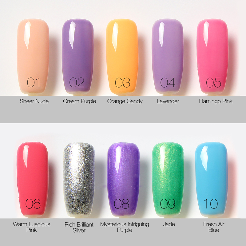 80 Colors Nail Gel Polish Long Lasting Soak Off Led Uv 6ml 1pcs Summer Hot By Focallure In From Beauty Health On