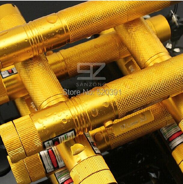 Offre spéciale SOS 532nm 100000 m Vert Pointeurs Laser SOS Focus Lazer Faisceau Militaire Burning Match, Brûler des Cigarettes, SD Laser 303