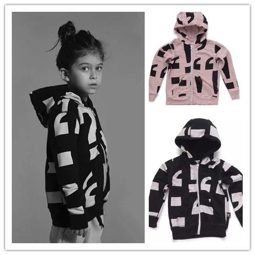 2016 invierno nununu bebé ropa circel baggy tops ropa niños bebé hoodiesvetement enfant kikikids moda tops