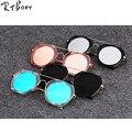 RTBOFY New Мода Cat Eye Солнцезащитные Очки Женщины Рамка Градиент Солнцезащитные Очки Вождения UV400 Алюминиевый Очки. JD1828