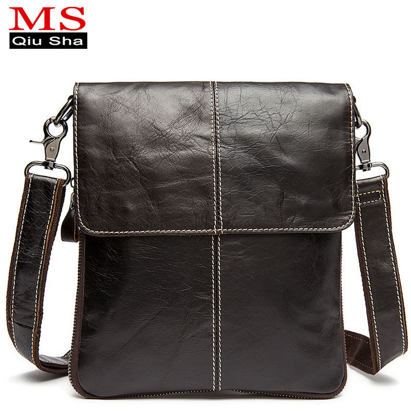 High quality men messenger bags fashion genuine leather bag Laptop Briefcase man crossbody bags casual business shoulder bags genuine leather men bag fashion messenger bags shoulder business men s briefcase casual crossbody handbags man waist bag li 1423
