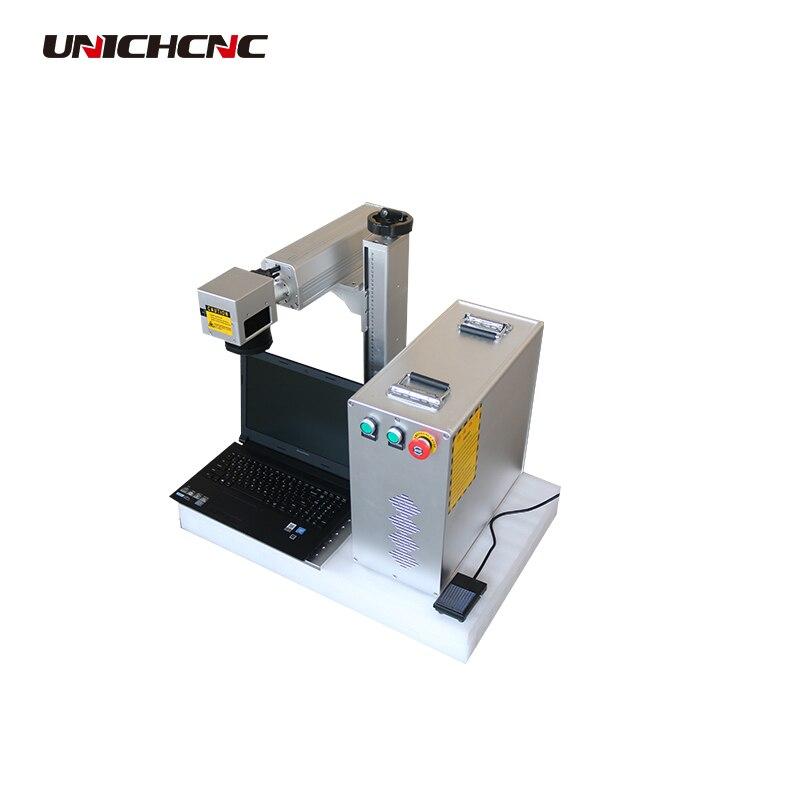 Laser à Fiber machine de marquage pour le métal et non-métal raycus générateur