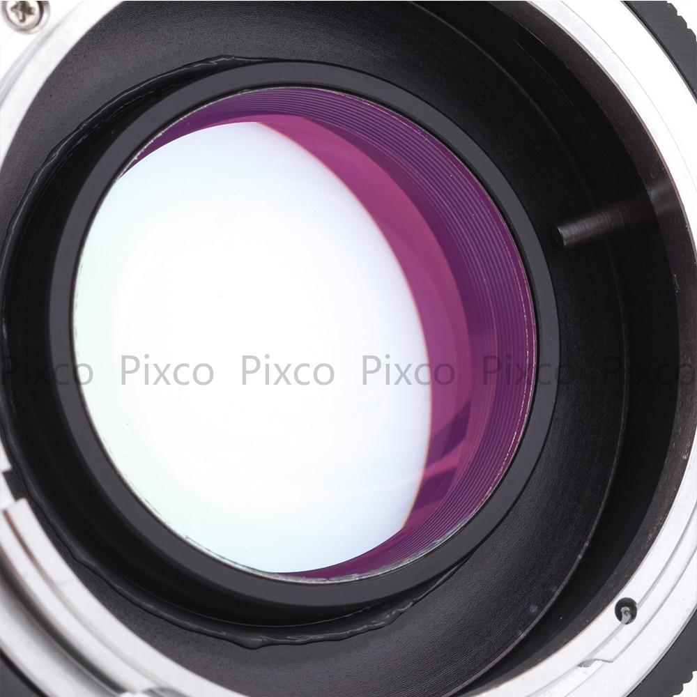 Pixco FD-FX kiiruse võimenduse fookuse reduktori objektiivi adapteri - Kaamera ja foto - Foto 2