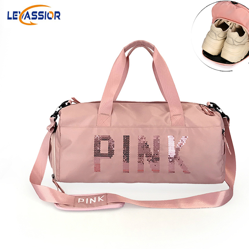 Sport Gym Bag for Women Shoe Compartment Waterproof Crossbody Sport Bag for Fitness Training Handbag Yoga Shoulder Bimba y Lola