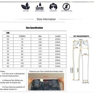 Image 5 - ICPANS Pants Loose Cotton Full Length Men Pants Casual Pockets Army Khaki Black Male Trousers Pants Men social Big Size Summer