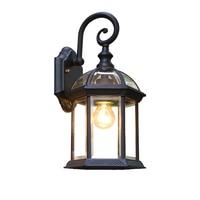 Outdoor Wall Lights Antique Waterproof Outdoor Lamp Balcony Courtyard Lamp Villa Door led Outdoor Lighting Exterior Wall Lamp