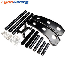 Dynoracing-Car modification Front Bumper For 2015-2017 Ford Mustang Black color YC101372 baja 5b front bumper sliver color