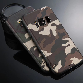 Camouflage Soft Cover For Samsung Galaxy A6 A7 A8 A9 2018 J4 J6 S8 S9 Plus J8 J2 Core A3 A5 J3 J5 J7 2017 S7 Edge Note 8 9 Case 1