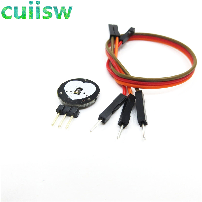 1 pcs Cardiac pulse Sensor for pulse Arduino open source hardware Development ZJ