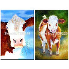 painting supplies paintings of pieces fabric interior decoration animal abstract paintings cow modern art paintings canvas wall