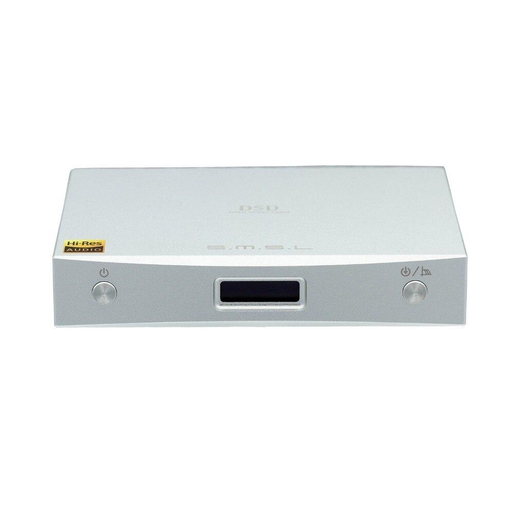 Unterhaltungselektronik ZuverläSsig Smsl M8a Hifi Audio Dac Ess Es9028q2m Xmos Dsd512 768 Khz Usb Optische/koaxial Tragbares Audio & Video