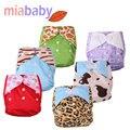 Miababy un tamaño pañal de tela bebé cubierta shipping1pcs gratis