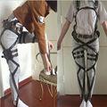 2017 nuevo ataque a titan cosplay shingeki no cosplay kyojin recon cuerpo arnés cinturones cinturón hookshot traje de cosplay traje