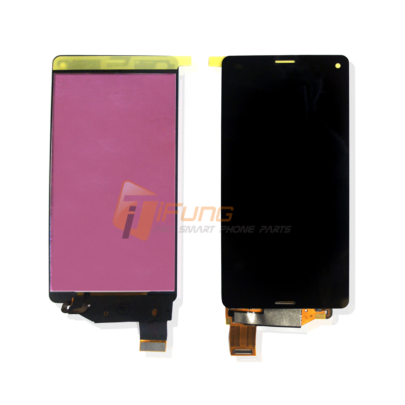 10pcs Free DHL EMS Original OEM LCD For Sony Xperia Z3 Compact Display for z3 mini Touch Screen Digitizer assembly Black Color dhl ems for original touch screen 6av6 643 0aa01 1ax0 6av6643 0aa01 1ax0 new