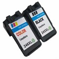 Professional PG 245 Compatible Print Ink Cartridges For Canon 246XL 245XL  compatible cartridges plus a black color suit