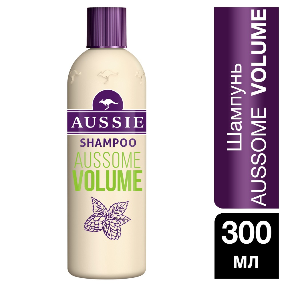 AUSSIE Aussome Volume Shampoo for Thin Hair 300ml