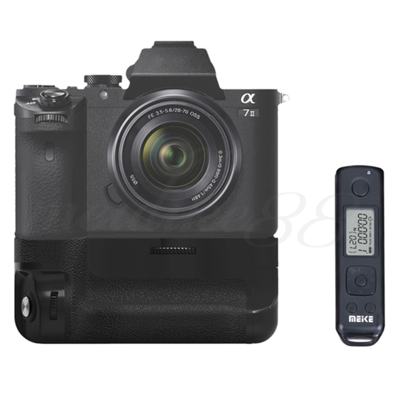 New Meike MK-A7II Pro Wireless Remote Control Battery Grip for Sony A7R II A7 II as VG-C2EM Free Shipping