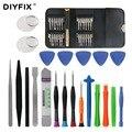 DIYFIX 45 в 1 инструмент для ремонта мобильных телефонов Отвертка Набор для iPhone iPad xiaomi Pry открытие планшетных ПК маленькие игрушки наборы ручных ...