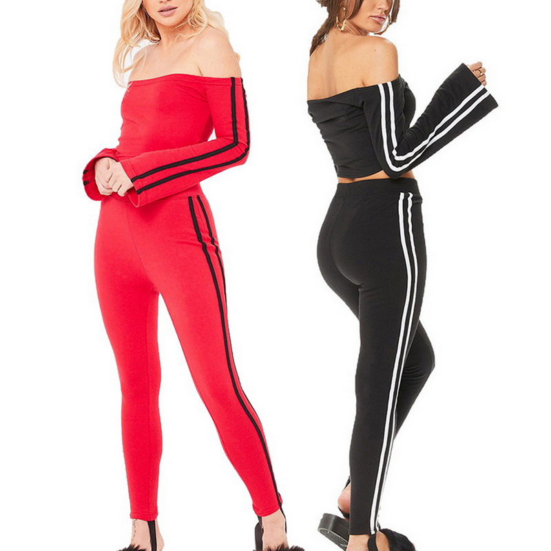 One Piece Sexy Women Yoga Set Tracksuit Sweatshirt Hoodies Or Pants Sportwear Autumn Fitness Gym Clothes Vivid And Great In Style Fitness & Body Building