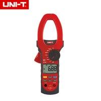 Uni t UT208 6666 отсчетов ЖК зажим Цифровой мультиметр AC DC усилитель напряжения ом тестер температуры 1000A с коробкой для инструментов