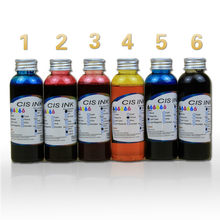 Free shipping 6 Colors 100ML Universal Edible Ink For Desktop Coffee Printer Food factory cake house DIY cake food coloring(China)
