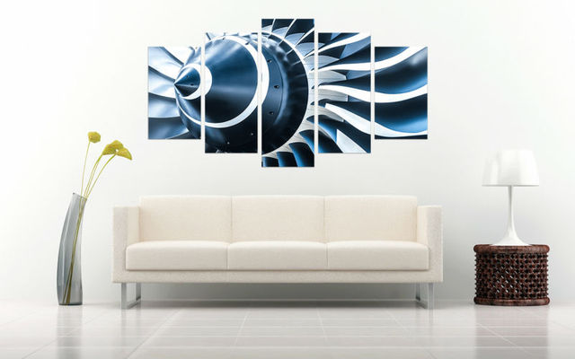 Plane star wars canvas