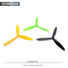 rc airplane drone parts props quadcopter 8 inch 8045 3 blades propllers for fpv race drone 4pcs