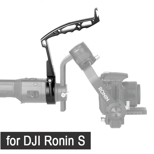 Gimbal Accessories Inverted Handle Sling Grip Neck Ring Mounting Extension Arm for DJI Ronin S Zhiyun Crane 2 /Plus Feiyu AK4000 14